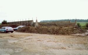 Biodegradace na dekontaminační ploše