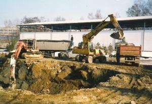 Těžba a odvoz kontaminovaného materiálu