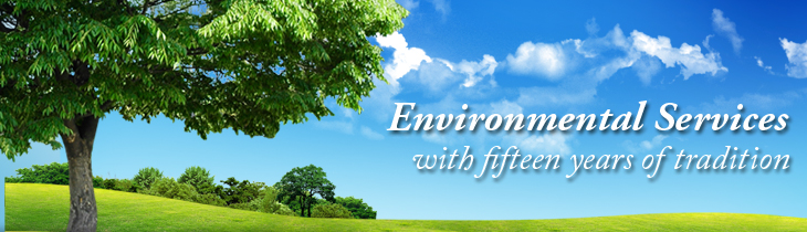 For legal entities, environmental services